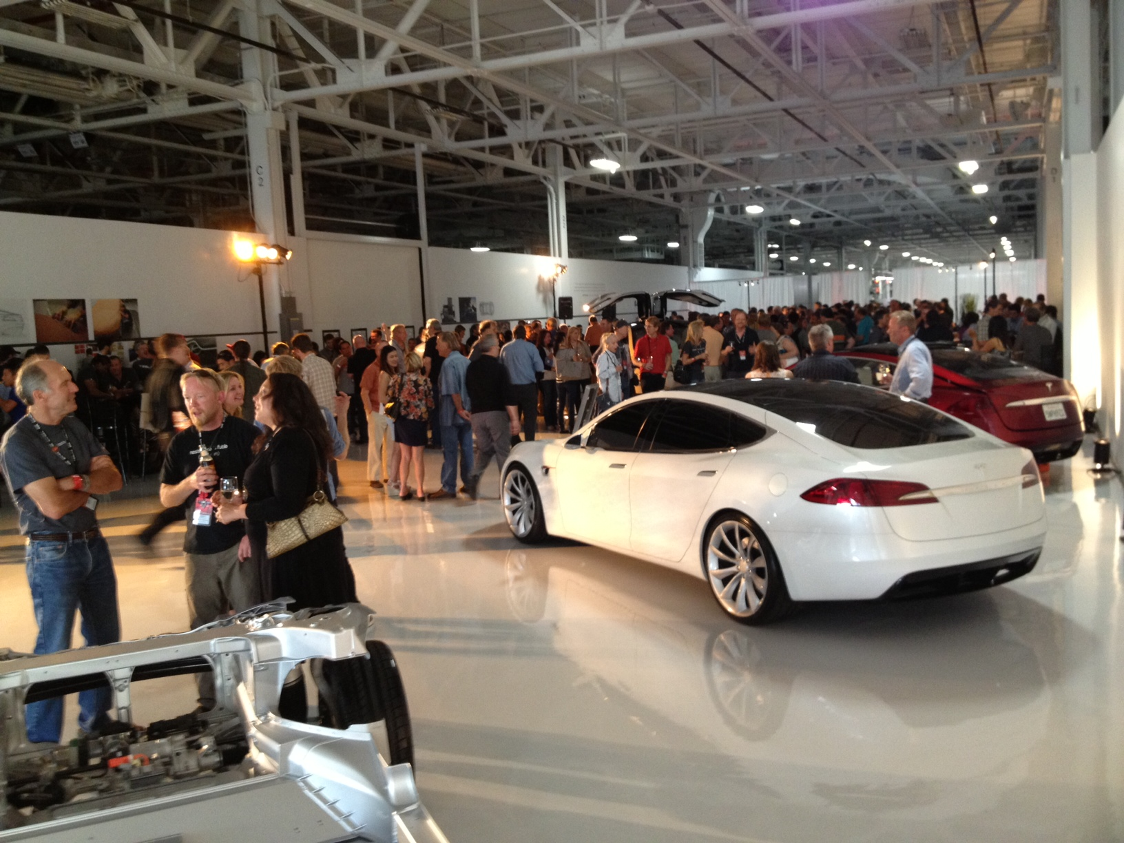 Tesla Factory Party Teslamodels